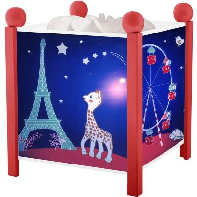 lanterne magique sophie la girafe rouge trousselier. Black Bedroom Furniture Sets. Home Design Ideas