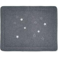 Tapis de parc étoiles Stary gris (75 x 95 cm)