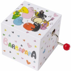 Cube manivelle Barbapapa