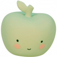 Petite veilleuse pomme vert menthe