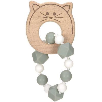 Jouet de dentition bracelet chat Little Chums  par Lässig