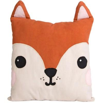 Coussin Kawaii Friends Hiro le renard (33 x 30 cm)  par sass & belle