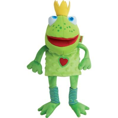 Marionnette à main Roi grenouille  par Haba