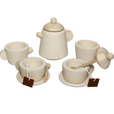 Service à thé en bois  par Plan Toys