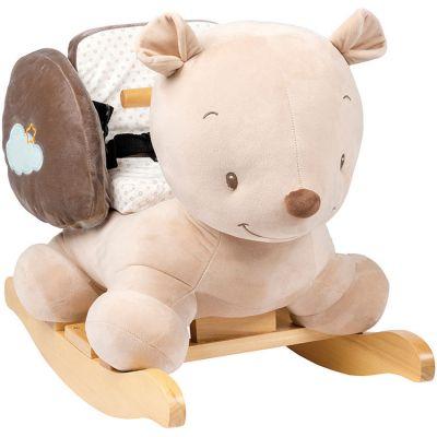 Bascule Basile l'ours  par Nattou