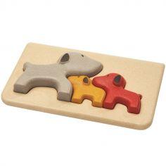 Puzzle à encastrement Mon 1er puzzle Chien (3 pièces)