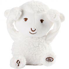 Peluche musicale Les doux Bidous Coucou Siméon Le mouton (20 cm)