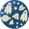 Stickers phosphorescents Mission espace - Little big room by Djeco