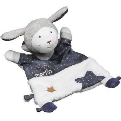 Doudou plat Merlin (30 cm) Sauthon Baby Déco