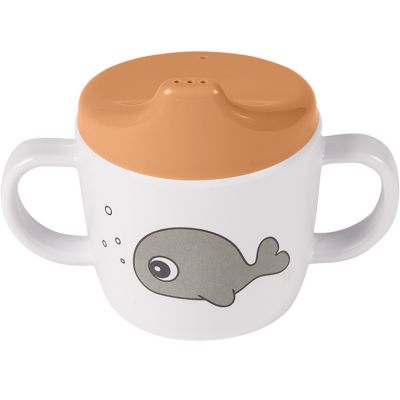 Tasse à bec Sea Friends moutarde