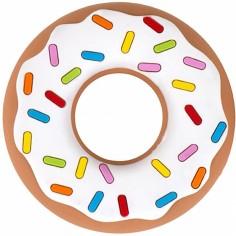 Jouet de dentition Donut blanc