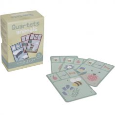 Jeu de cartes Quartet Animaux Pure & Nature