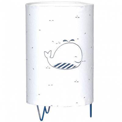 Lampe à poser Blue baleine  par Sauthon
