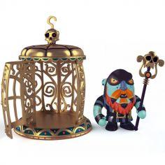 Figurine Gnomus & Ze cage