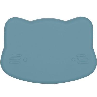 Boîte à goûter 3 en 1 chat bleu  par We Might Be Tiny