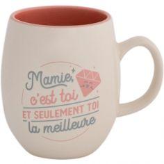 Mug Mamie, c'est toi et seulement toi la meilleure (365 ml)