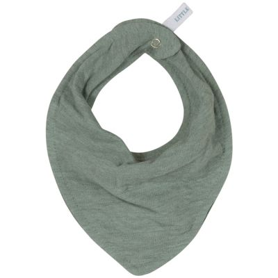 Bavoir bandana Pure mint  par Little Dutch