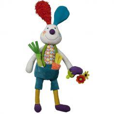 Jeff le lapin d'activités La Happy Farm (45 cm)