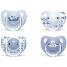Sucette physiologique Rose & Bleu Toys bleu clair motif aléatoire (6-18 mois)