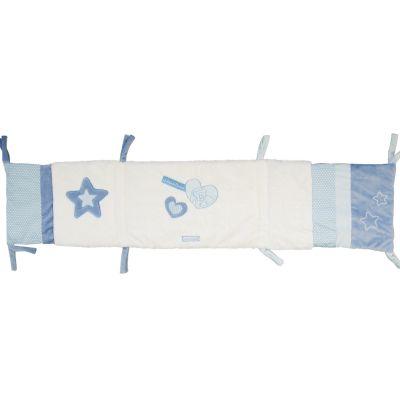 Tour de lit Petit chou bleu (pour lit 60 x 120 cm) Doudou et Compagnie