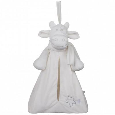 Range pyjama Lola blanc Poudre d'étoiles  par Noukie's