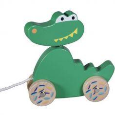 Jouet à tirer Crocodile Jungle Boogie