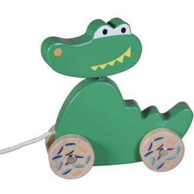 Jouet à tirer Crocodile Jungle Boogie  par Ebulobo