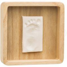 Cadre empreinte Magic box en bois