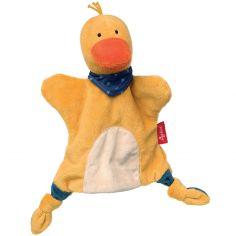 Doudou marionnette canard (24 cm)