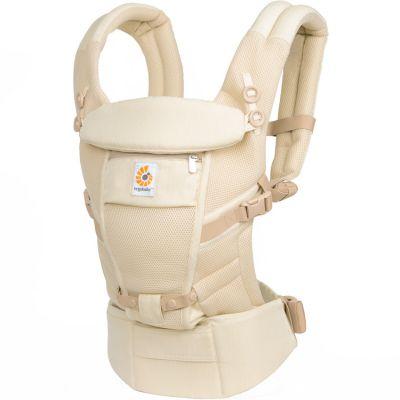 Porte bébé Adapt Cool Air Mesh beige chiné Ergobaby