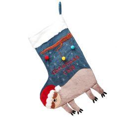 Chaussette de Noël Paresseux
