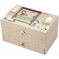 Boîte à bijoux musicale 1 tiroir Ninon Prince & Princesse