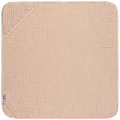 Cape de bain en mousseline rose pâle (0-2 ans)  par Lässig
