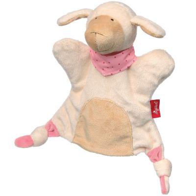 Doudou marionnette mouton (23 cm) Sigikid