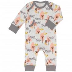 Combinaison pyjama renard (0-3 mois : 50 à 60 cm)