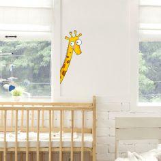 Sticker de porte girafe (côté gauche)