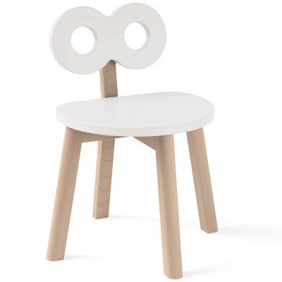 Chaise enfant infini blanche  par ooh noo