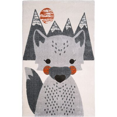Tapis lavable enfant Mr Fox renard (100 x 150 cm)  par Nattiot