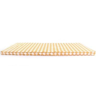 matelas de sol saint tropez losange jaune miel 60 x 120 cm. Black Bedroom Furniture Sets. Home Design Ideas