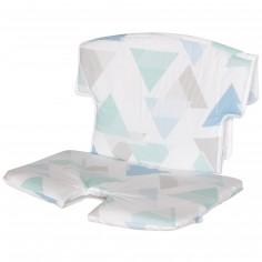Coussin de chaise haute tissu Syt prisme