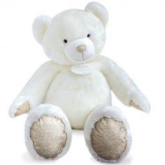 Peluche géante ours blanc La Peluche (120 cm)