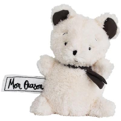 Mini peluche ours Mon Ourson (17 cm) Les P'tites Douceurs