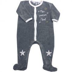 Pyjama chaud Mon Premier Noël (3 mois)