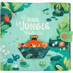 Grand livre bébé d'activités Dans la Jungle