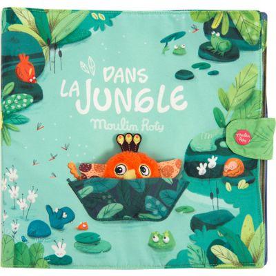 Grand livre bébé d'activités Dans la Jungle  par Moulin Roty