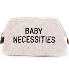 Trousse de toilette Baby necessities Teddy écru