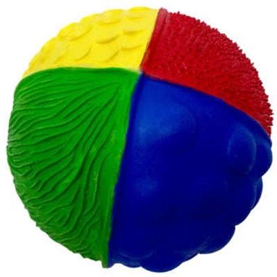 Balle texturée latex d'hévéa  par Lanco