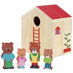 Maison à jouer et figurines Minihouse