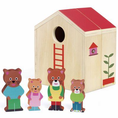 Maison à jouer et figurines Minihouse  par Djeco
