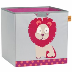 Cube de rangements jouets Wildlife Lion